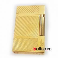 Bặt lửa St. Dupont mầu vàng vát chéo - Mã SP: BL03264
