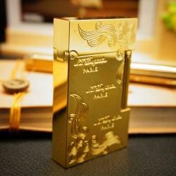 Bật Lửa S.T.Dupont chữ Dupont dạng thỏi vàng khối Mẫu 92 - Mã SP: BL00351