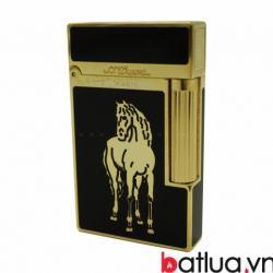 Bật lửa S.T.Dupont in ngựa vàng - Mã SP: BL09986