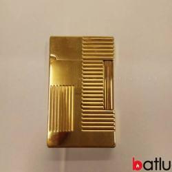 Bật lửa St.Dupont mẫu vàng đan chéo - Mã SP: BL03265