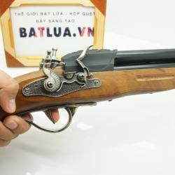 Bật Lửa súng kiểu dáng cổ F2 Mẫu 2  lòng súng - Mã SP: BL01116