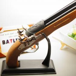 Bật Lửa súng kiểu dáng cổ F3 Mẫu 3  lòng súng - MS55 025 - Mã SP: BL00592