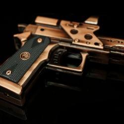Bật lửa súng lục DeShan mã M85 ( loại dùng ga lửa khò ) - Mã SP: BL01341