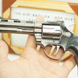 Bật lửa súng rulo xoay lòng - MS55 035 - Mã SP: BL00588