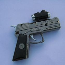 Bật lửa súng tia lửa khò có tia laser và đèn pin Mã 923 - Mã SP: BL01281