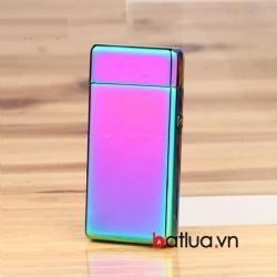 Bật lửa USB 2 tia lửa điện 7 màu - Mã SP: BL10337