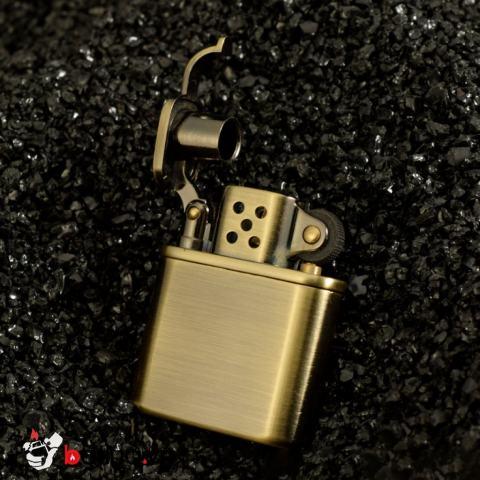Bật Lửa Xăng Đá Zorro - Z506 Đồng Cổ Điển