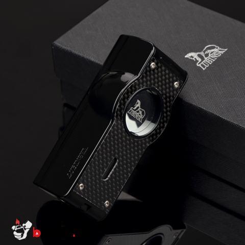 Bật lửa xì gà LUBINSKI cảm ứng SK5 màu đen