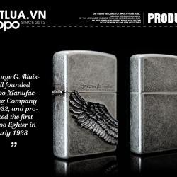 Bật lửa zippo Angel Wings chính hãng , Xuất dành cho thị trường nhật bản - Mã SP: BL01440