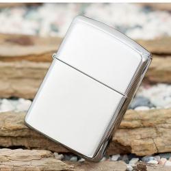 Bật lửa Zippo chính hãng 167 bạc trơn - Mã SP: BL09441