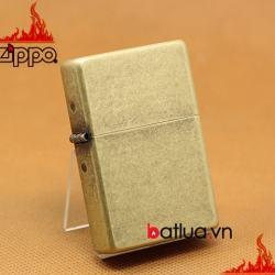 Bật lửa Zippo chính hãng 2 đáy giả đồng cổ - Mã SP: BL03203