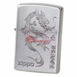 Bật lửa Zippo chính hãng bạc khắc rồng đặc biệt - Mã SP: BL09952