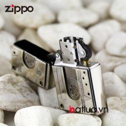 Bật lửa Zippo chính hãng Bạc nhẹ phiên bản băng cassette 1932 - Mã SP: BL00449