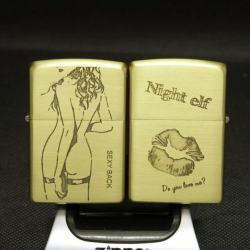 Bật lửa Zippo chính hãng back Sexy American - Mã SP: BL09097
