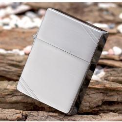Bật lửa Zippo chính hãng classic khắc vát chéo - Mã SP: BL09450