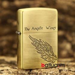 Bật lửa Zippo chính hãng đồng  phiên bản giới hạn cánh thiên thần - Mã SP: BL10285