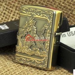 Bật lửa zippo chính hãng Dragons rồng lửa bao 2 mặt - Mã SP: BL09901