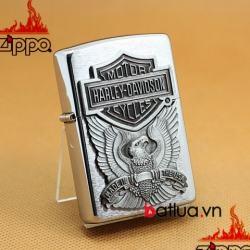 bật lửa zippo chính hãng  harley davidson mầu bạc - Mã SP: BL03243