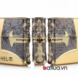 Bật lửa Zippo chính hãng Helm mạ vàng - Mã SP: BL10178
