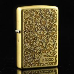 Bật lửa Zippo chính hãng hoạ tiết Ả rập - Mã SP: BL09150
