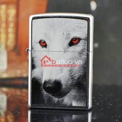Bật lửa zippo chính hãng họa tiết mắt sói đỏ 2015 - Mã SP: BL09915