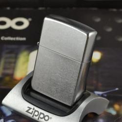 Bật lửa Zippo chính hãng kiểu dáng bạc xước cổ điển 207 - Mã SP: BL09785
