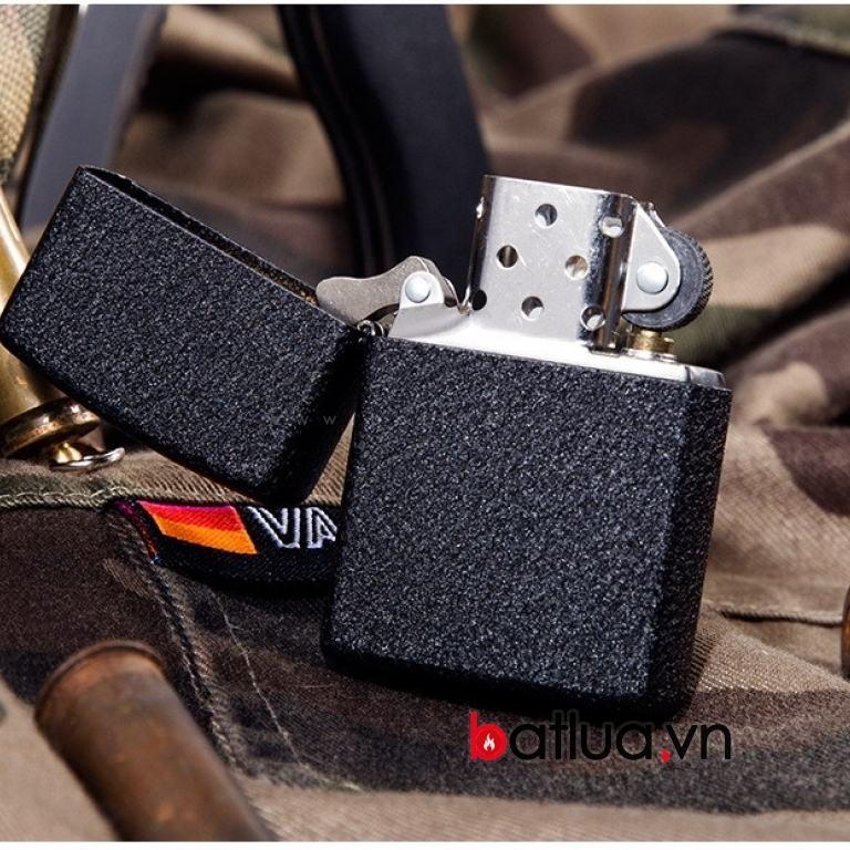17k - Zippo Mỹ USB trơn màu nứt cực đẹp giá sỉ và lẻ rẻ nhất