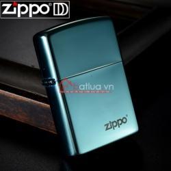 Bật lửa Zippo chính hãng màu xanh ngọc bích - Mã SP: BL09953