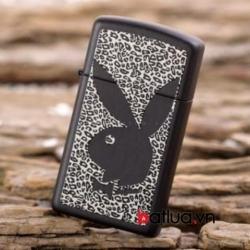 Bật lửa zippo chính hãng Mỹ bản hẹp PlayBoy - Mã SP: BL10170