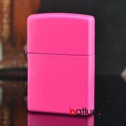 Bật lửa zippo chính hãng Mỹ phiên bản màu hồng - Mã SP: BL10161