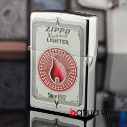 Bật lửa zippo chính hãng Mỹ phiên bản ngọn lửa - Mã SP: BL10159