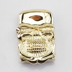 Bật lửa Zippo Chính hãng nguyên khổi Ghost Rider Demon Skull tin Cangyin - Mã SP: BL09008