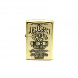 Bật lửa Zippo chính hãng nhãn hiệu rượu Jim Beam phiên bản cũ - Mã SP: BL09104