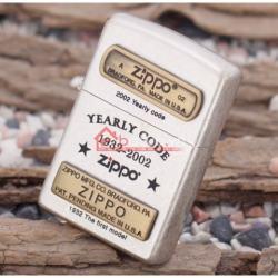 Bật lửa zippo chính hãng ORIGINAL kỷ niệm lần thứ 70 kiểu dáng bạc cổ - Mã SP: BL09892