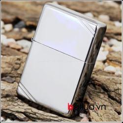 Bật lửa zippo chính hãng phiên bản Cutaway bạc mịn - Mã SP: BL10082