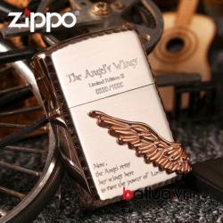 Bật lửa Zippo chính hãng phiên bản giới hạn Hàn Quốc cánh thiên thần Ver 1 - Mã SP: BL10061