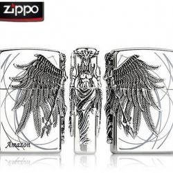 Bật lửa Zippo chính hãng phiên bản giới hạn Stereo badge Amazons - Mã SP: BL09122