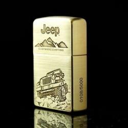 Bật lửa Zippo chính hãng phiên bản giới hạn xe JEEEP - Mã SP: BL09134