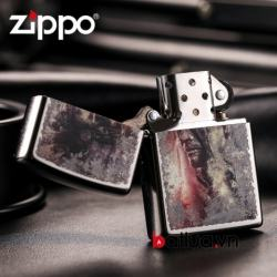 Bật lửa Zippo chính hãng phiên bản Mỹ Windproof - Mã SP: BL00442