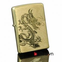 Bật lửa Zippo Chính Hãng The Dragon 204B Đồng - Mã SP: BL10141