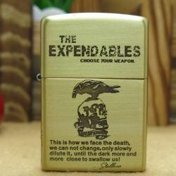 Bật lửa Zippo chính hãng The Expendables - Mã SP: BL09141