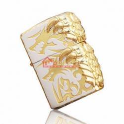 Bật lửa Zippo chính hãng vàng móng ôm xung quanh - Mã SP: BL09974