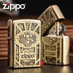 Bật lửa zippo chính hãng xuất nhật chạm khắc cầu kỳ - Mã SP: BL03082