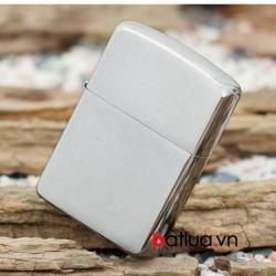 Bật lửa Zippo chính hãng Z162 Bạc chải xước - Mã SP: BL09966