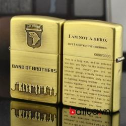 Bật lửa zippo đồng Band of Brothers Limited 3000 - Mã SP: BL10062