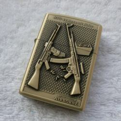 Bật lửa kiểu dáng Zippo hình bom AK47 - Mã SP: BL01161