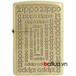 Bật lửa Zippo khắc chữ Zippo phiên bản giới hạn - Mã SP: BL03179