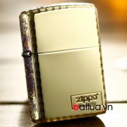 Bật lửa Zippo khắc rồng xung quanh Zippo phiên bản đông giới hạn - Mã SP: BL03180