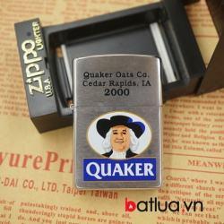 Bật lửa zippo la mã Quaker ông già sản xuất năm 1998 - Mã SP: BL03125