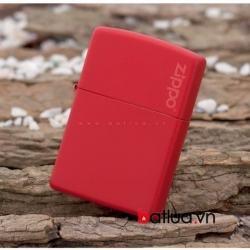 Bật Lửa Zippo Màu Đỏ Bạc Đô - Mã SP: BL10172